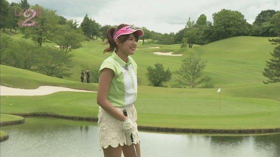 久松郁実 ラブゴル2のキュートなゴルフウェア姿キャプ 画像25枚 18