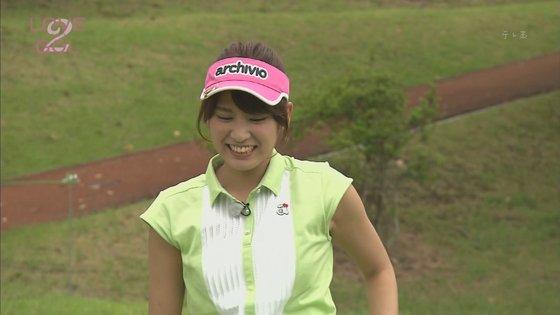 久松郁実 ラブゴル2のキュートなゴルフウェア姿キャプ 画像25枚 1