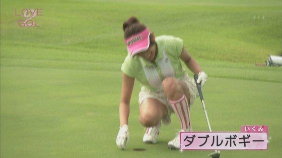 久松郁実 ラブゴル2のキュートなゴルフウェア姿キャプ 画像25枚 21
