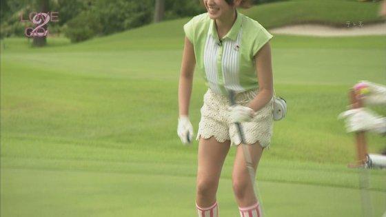 久松郁実 ラブゴル2のキュートなゴルフウェア姿キャプ 画像25枚 22