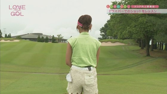 久松郁実 ラブゴル2のキュートなゴルフウェア姿キャプ 画像25枚 23
