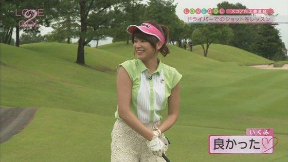 久松郁実 ラブゴル2のキュートなゴルフウェア姿キャプ 画像25枚 24