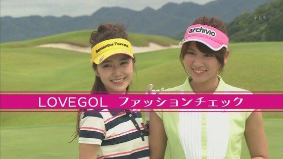 久松郁実 ラブゴル2のキュートなゴルフウェア姿キャプ 画像25枚 2