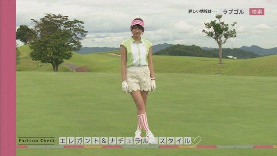 久松郁実 ラブゴル2のキュートなゴルフウェア姿キャプ 画像25枚 3
