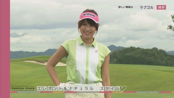久松郁実 ラブゴル2のキュートなゴルフウェア姿キャプ 画像25枚 9