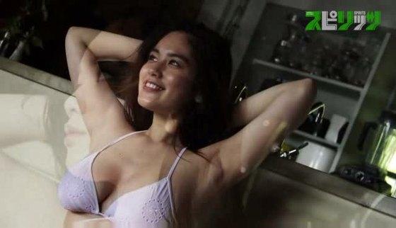 筧美和子 スピリッツの腋見せHカップ爆乳水着グラビア 画像40枚 22