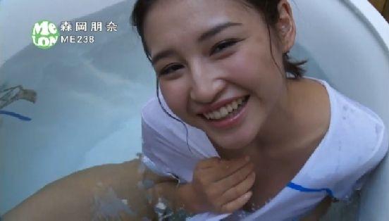 森岡朋奈 DVDキレイなお姉さんのEカップ谷間キャプ 画像51枚 19