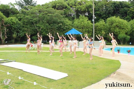 NMB48 新曲最後の五尺玉MVのオフショット水着姿 画像21枚 10