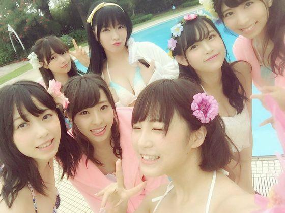 NMB48 新曲最後の五尺玉MVのオフショット水着姿 画像21枚 14