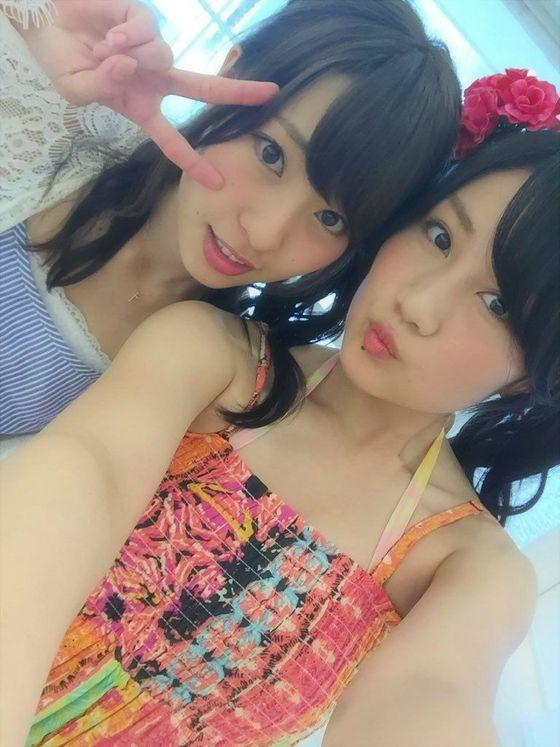 NMB48 新曲最後の五尺玉MVのオフショット水着姿 画像21枚 18