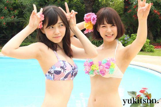 NMB48 新曲最後の五尺玉MVのオフショット水着姿 画像21枚 3