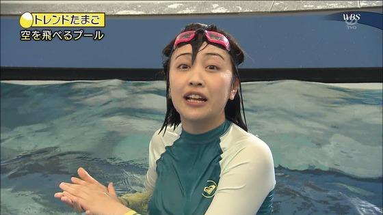 相内優香 テレ東WBSの水着姿ムチムチEカップ巨乳キャプ 画像30枚 17