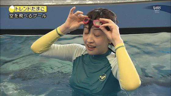 相内優香 テレ東WBSの水着姿ムチムチEカップ巨乳キャプ 画像30枚 19