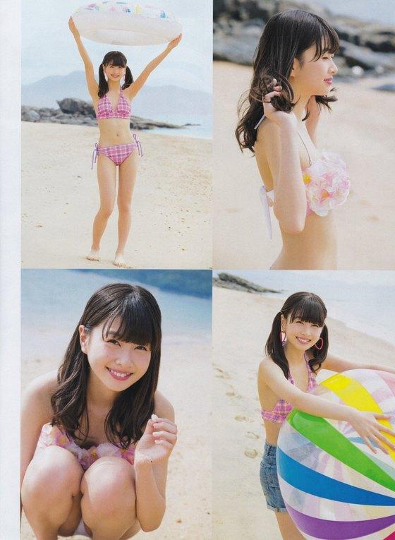 松岡はな HKT新センターの月刊ENTAME水着グラビア 画像23枚 2