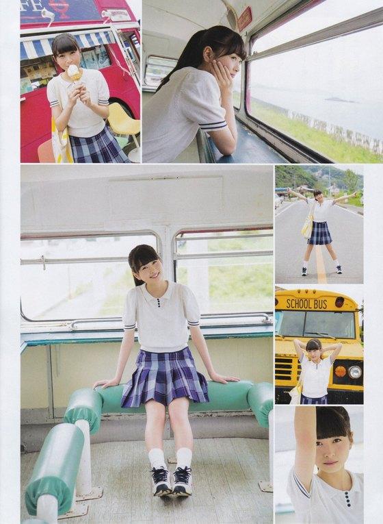 松岡はな HKT新センターの月刊ENTAME水着グラビア 画像23枚 3