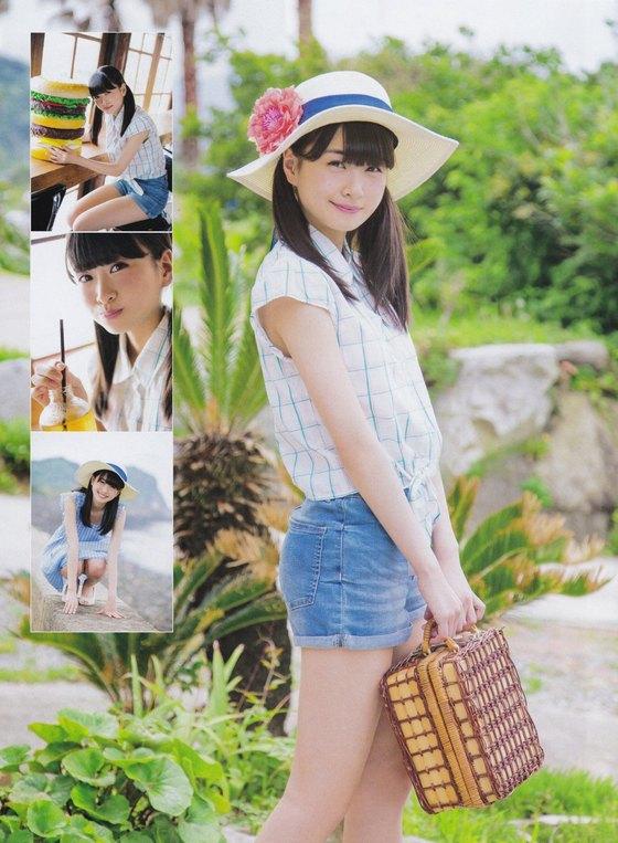 松岡はな HKT新センターの月刊ENTAME水着グラビア 画像23枚 4