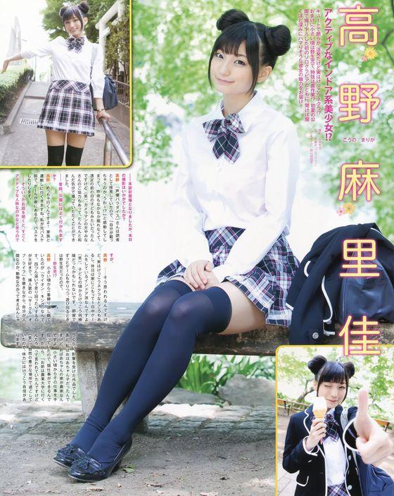 高野麻里佳 声優パラダイスRの太ももが眩しいグラビア 画像16枚 11