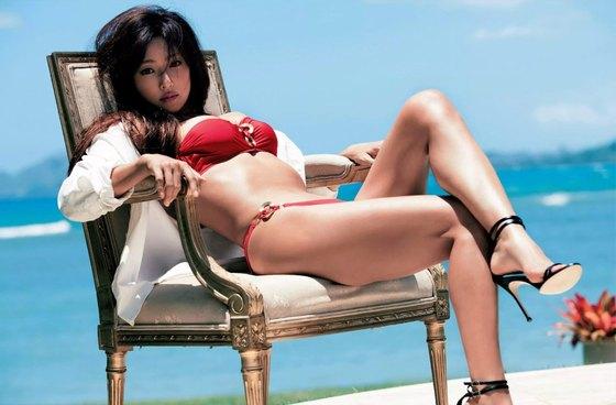 深田恭子 週プレの写真集先行水着サーフィン姿グラビア 画像35枚 19