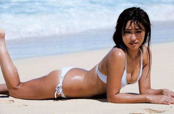 深田恭子 週プレの写真集先行水着サーフィン姿グラビア 画像35枚 26