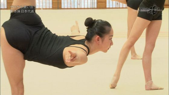 新体操日本代表フェアリージャパンのアスリートの魂キャプ 1