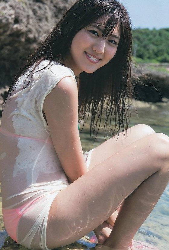 岩崎名美 ヤングマガジンの水着Gカップ谷間最新グラビア 画像25枚 13