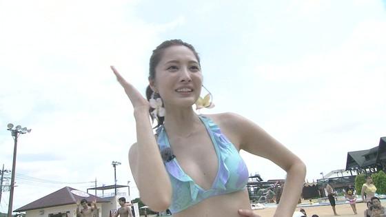 大石絵理 PONお天気お姉さんのCカップ水着姿キャプ 画像20枚 18