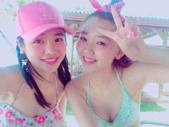 江野沢愛美 ヤングジャンプの水着Bカップ谷間&全開腋 画像24枚 23