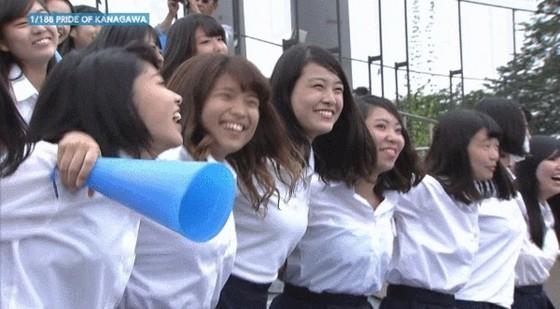 高校球児を応援する女子校生チアガールのおっぱいと腋キャプ 画像30枚 2
