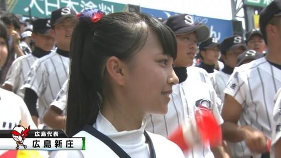高校球児を応援する女子校生チアガールのおっぱいと腋キャプ 画像30枚 5