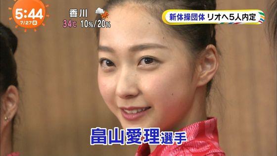 畠山愛理 全開腋を披露した新体操フェアリージャパンキャプ 画像24枚 10