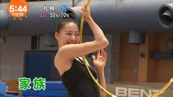 畠山愛理 全開腋を披露した新体操フェアリージャパンキャプ 画像24枚 16