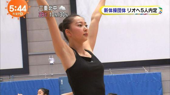 畠山愛理 全開腋を披露した新体操フェアリージャパンキャプ 画像24枚 1