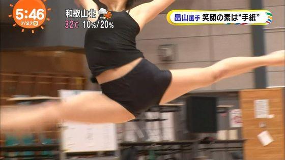 畠山愛理 全開腋を披露した新体操フェアリージャパンキャプ 画像24枚 23
