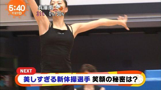畠山愛理 全開腋を披露した新体操フェアリージャパンキャプ 画像24枚 3