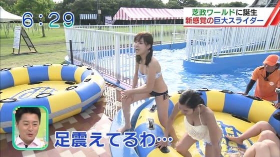 松田栞 プールロケのCカップ水着姿&股間キャプ 画像30枚 17