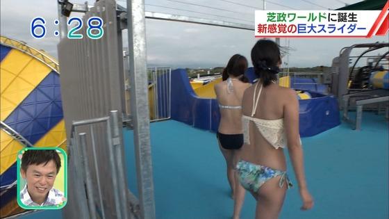 松田栞 プールロケのCカップ水着姿&股間キャプ 画像30枚 8