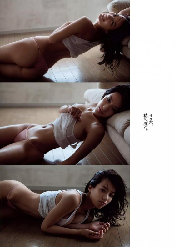 小瀬田麻由 Fカップ巨乳手ブラセミヌードグラビア 画像30枚 7