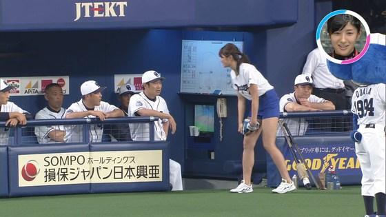 稲村亜美 太ももと美脚を披露したナゴヤドーム始球式キャプ 画像28枚 10