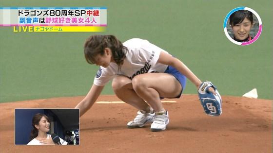 稲村亜美 太ももと美脚を披露したナゴヤドーム始球式キャプ 画像28枚 15