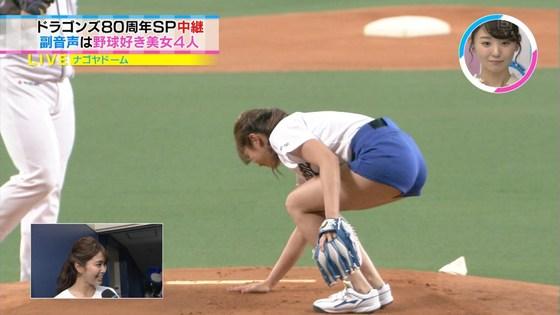 稲村亜美 太ももと美脚を披露したナゴヤドーム始球式キャプ 画像28枚 17