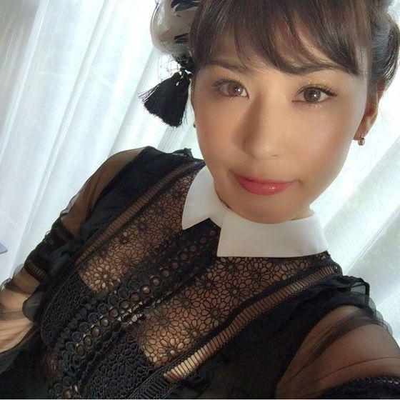 金子智美 変態競泳水着のFカップハミ乳自画撮り 画像51枚 10