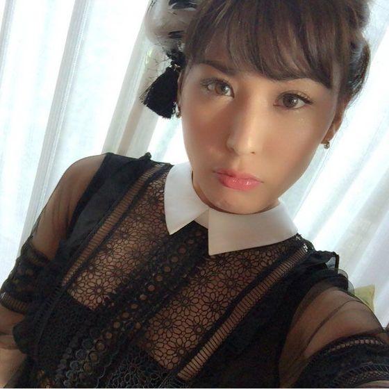 金子智美 変態競泳水着のFカップハミ乳自画撮り 画像51枚 9