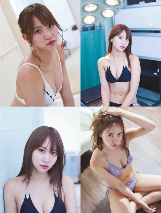 永尾まりや 週刊SPA!のナースコスプレ胸チラグラビア 画像26枚 3