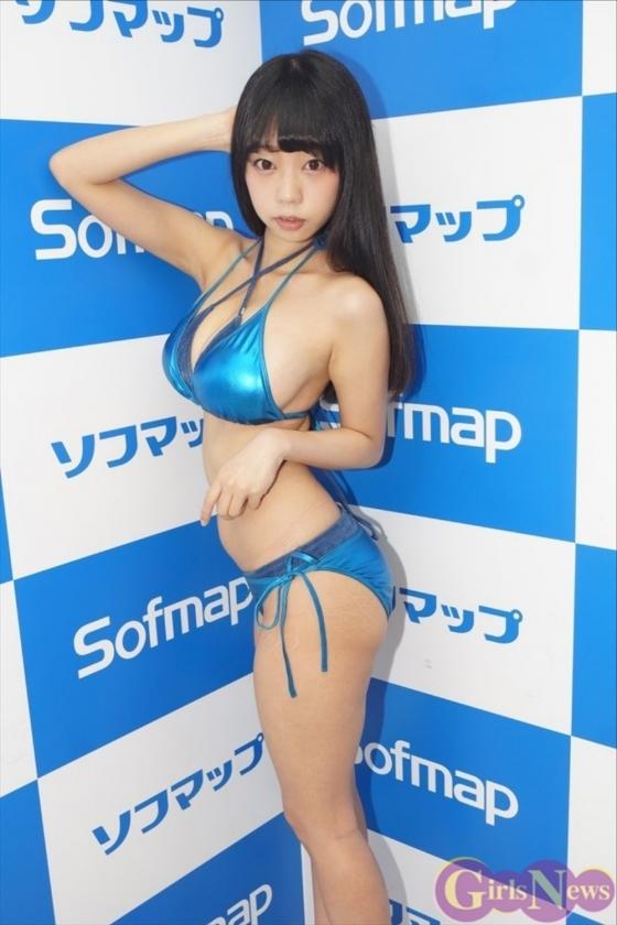 青山ひかる AH販促ソフマップイベントのIカップハミ乳 画像29枚 13
