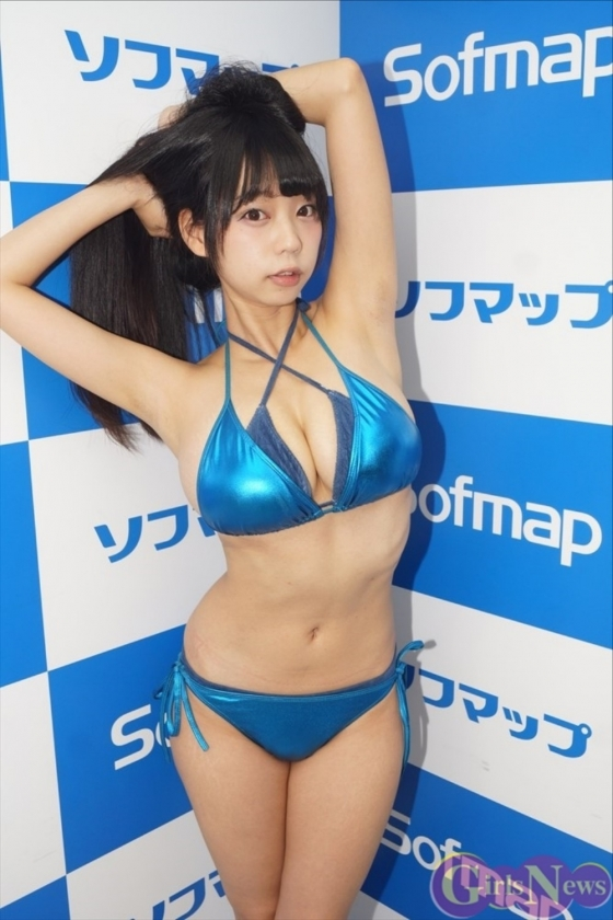 青山ひかる AH販促ソフマップイベントのIカップハミ乳 画像29枚 18