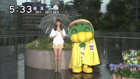 山崎あみ ズムサタのショートパンツ美脚と腋チラキャプ 画像30枚 6