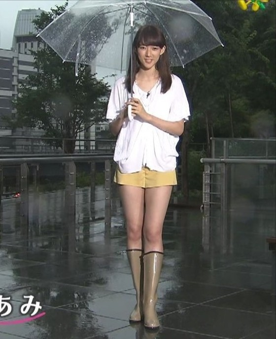 山崎あみ ズムサタのショートパンツ美脚と腋チラキャプ 画像30枚 9