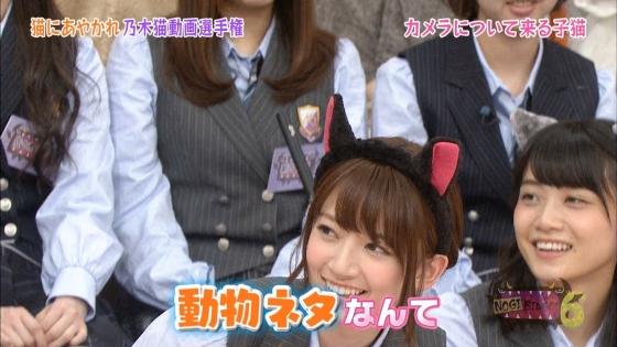 橋本奈々未 NOGIBINGO!6の猫耳を付けた可愛い子猫姿キャプ 画像30枚 16