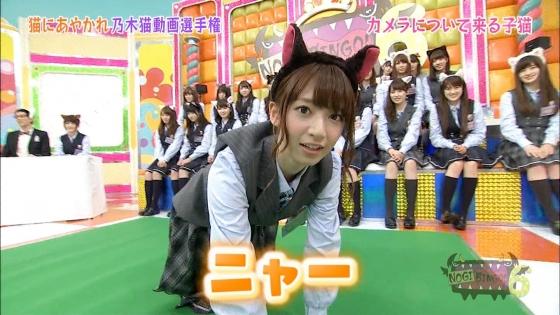 橋本奈々未 NOGIBINGO!6の猫耳を付けた可愛い子猫姿キャプ 画像30枚 19