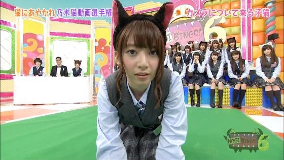 橋本奈々未 NOGIBINGO!6の猫耳を付けた可愛い子猫姿キャプ 画像30枚 20